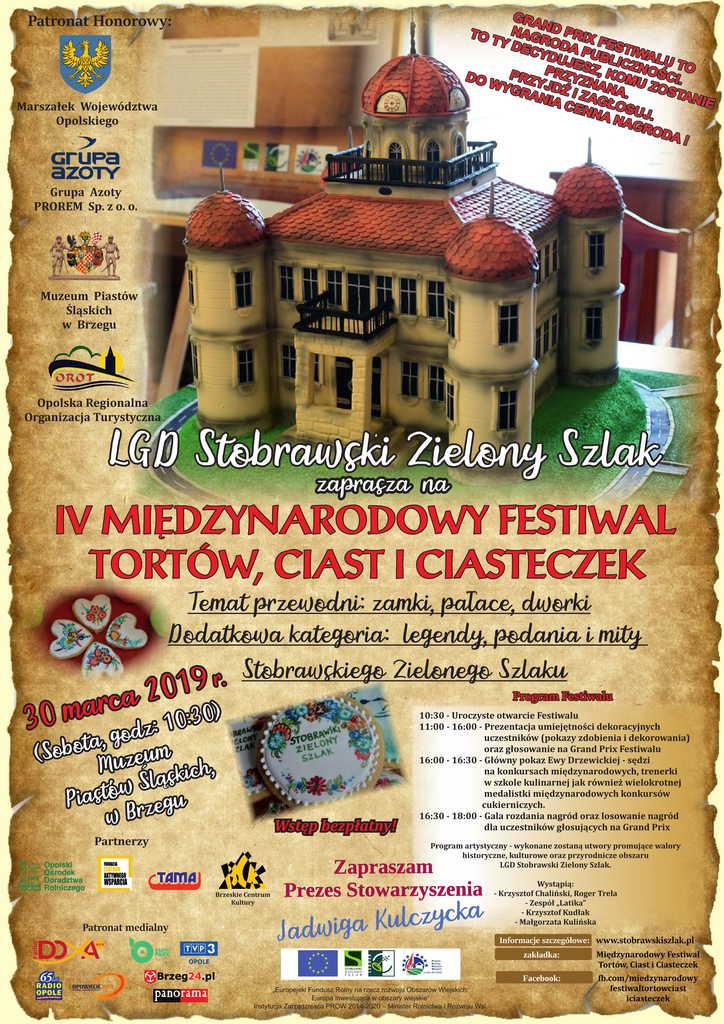 Międzynarodowy Festiwal Tortów, Ciast i Ciasteczek w Brzegu już w sobotę (30.03)