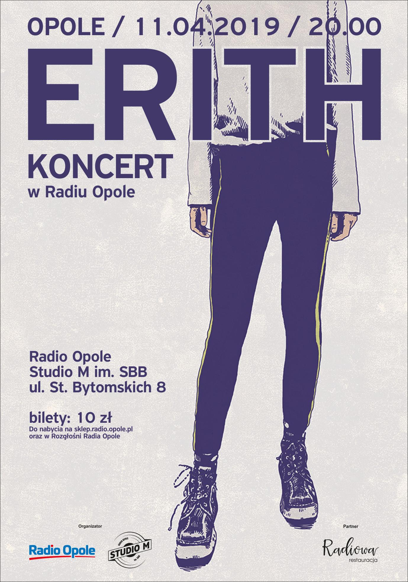 Kosmiczne dźwięki Erith zabrzmią w Studio M 11 kwietnia - bilety już w sprzedaży!