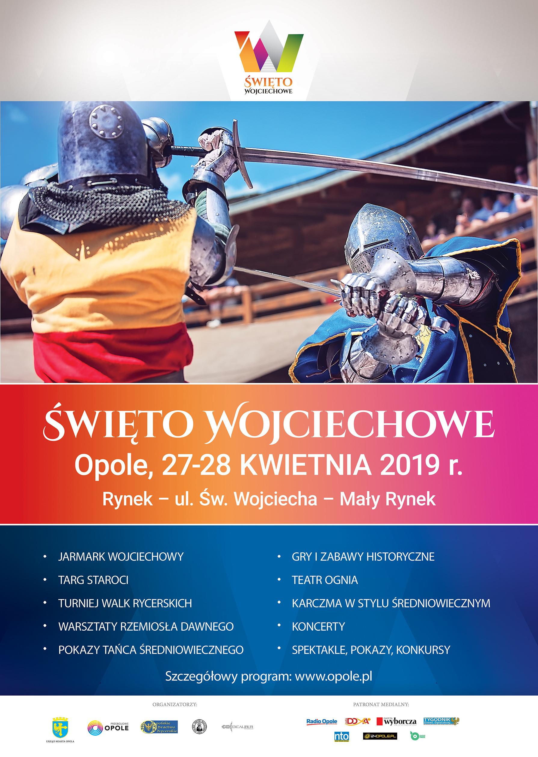 Tegoroczna feta dla św. Wojciecha odbędzie się w dniach 27 i 28 kwietnia