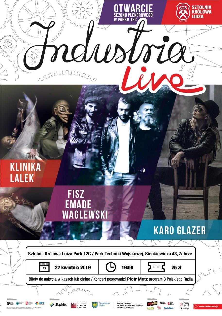 Druga edycja Industria Live już w sobotę – poznaj szczegóły! [materiały organizatora]