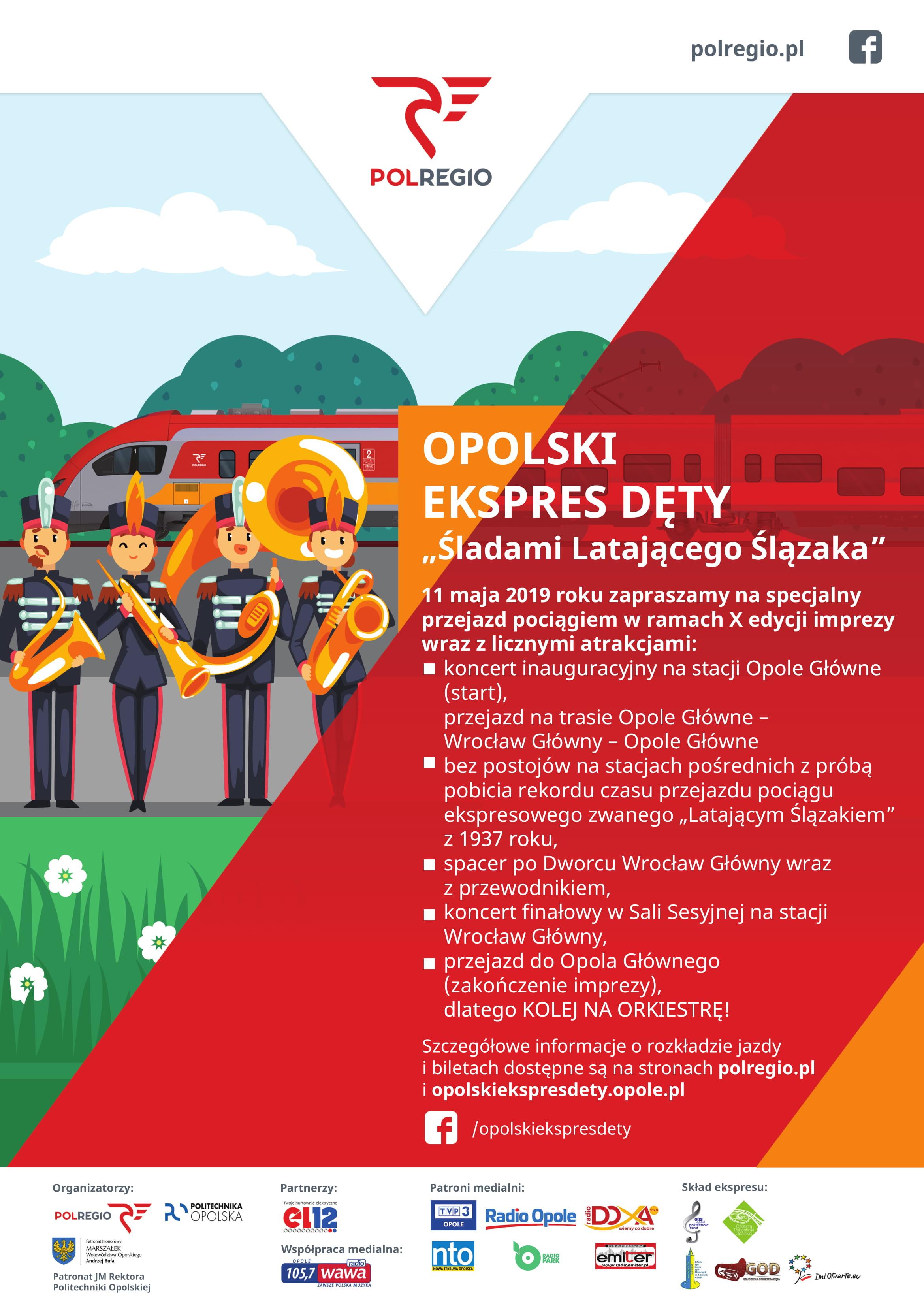 X Opolski Ekspres Dęty już 11 maja