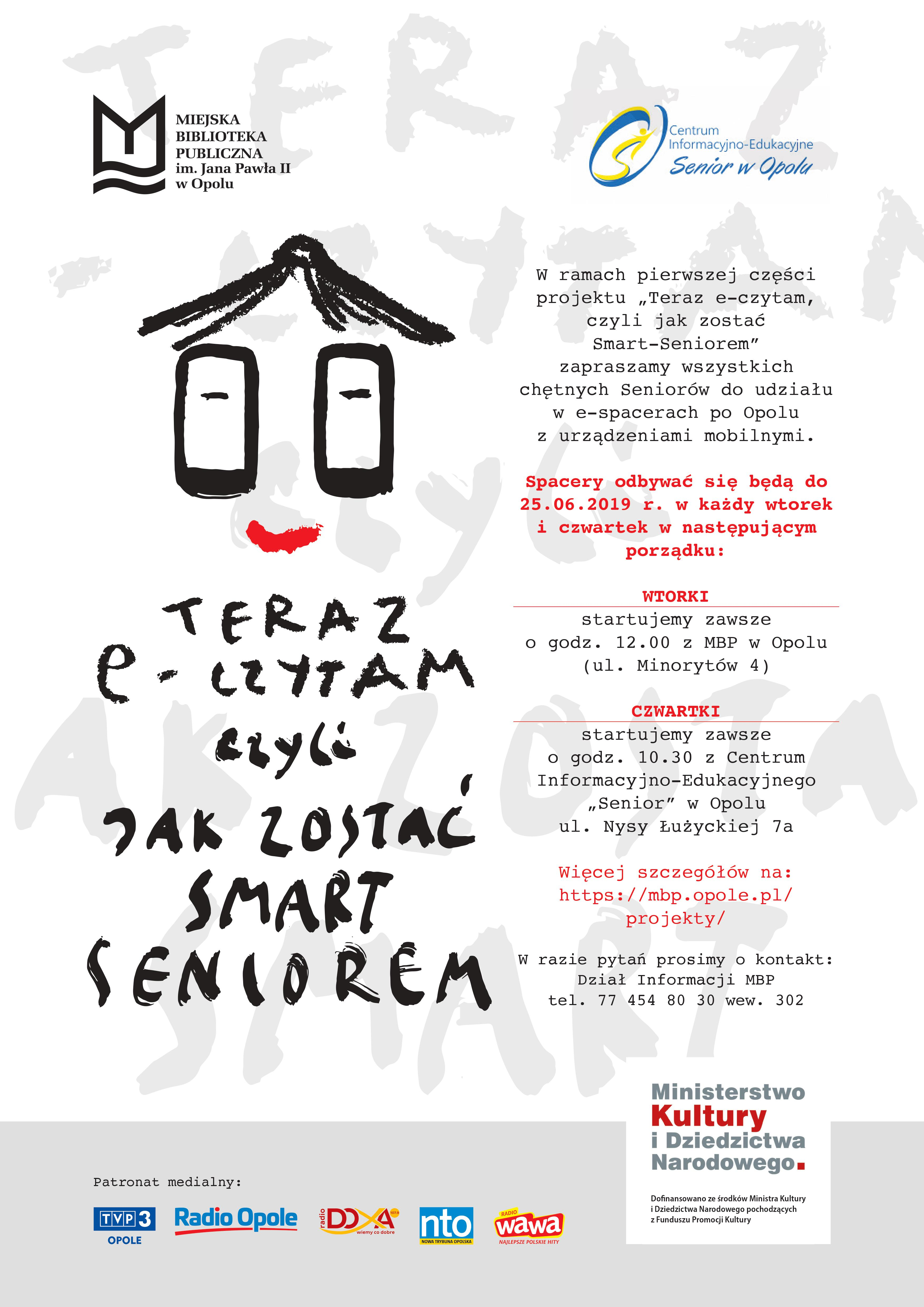 Jak zostać Smart Seniorem - plakat