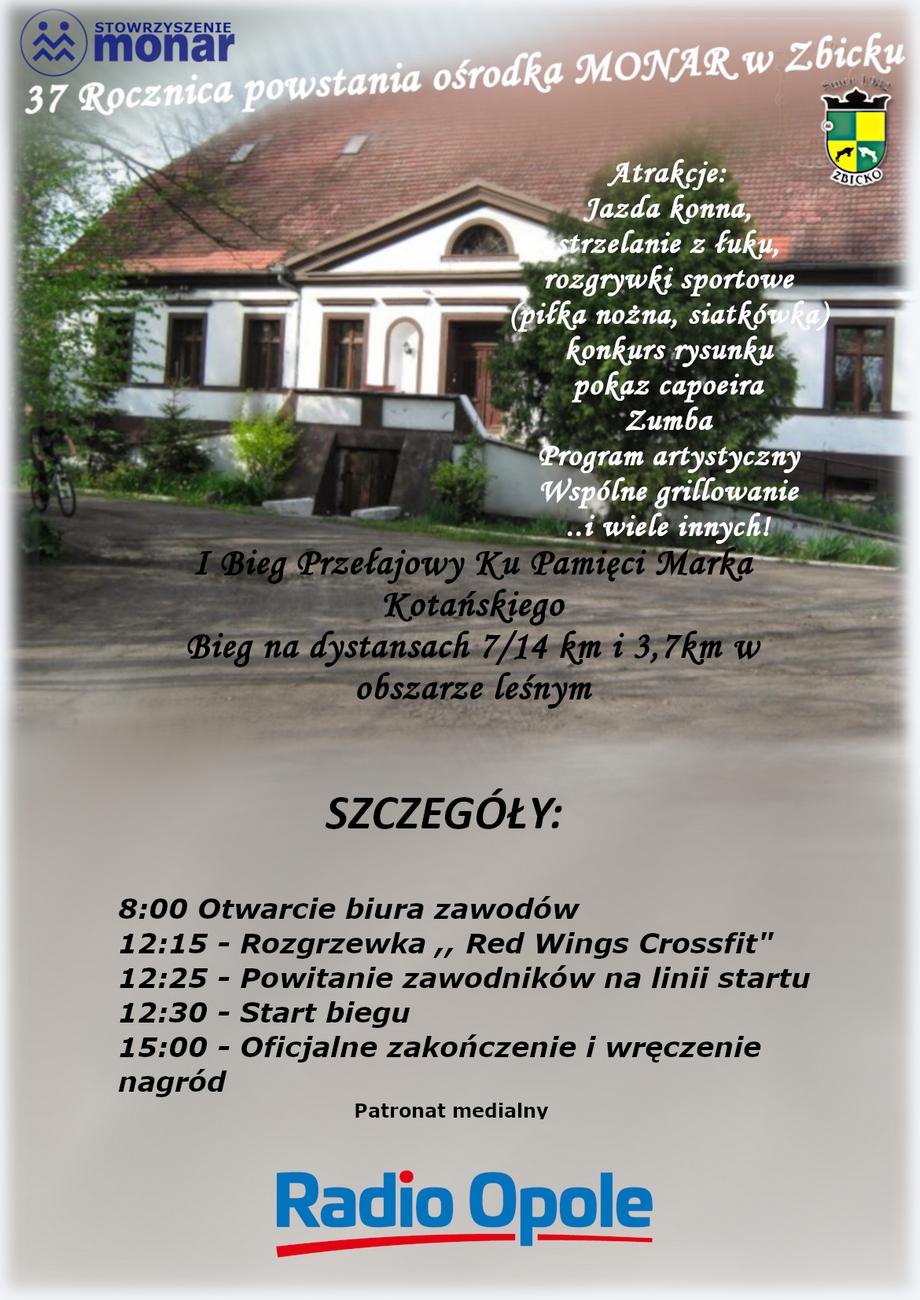 Zbliża się 37. rocznica powstania ośrodka MONAR w Zbicku – obchody już w sobotę! [materiały organizatora]