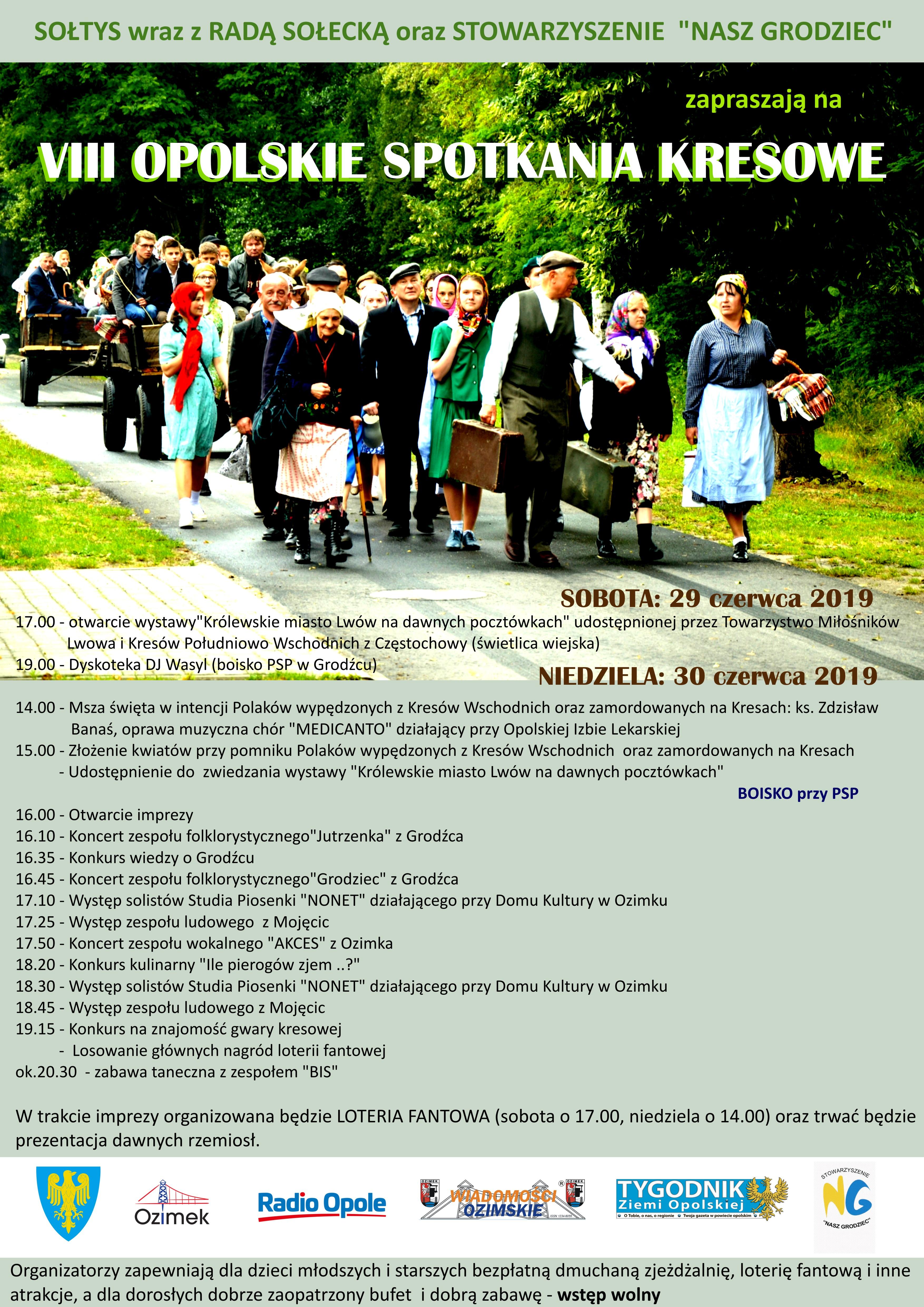 Przed nami VIII Opolskie Spotkanie Kresowe w Grodźcu
