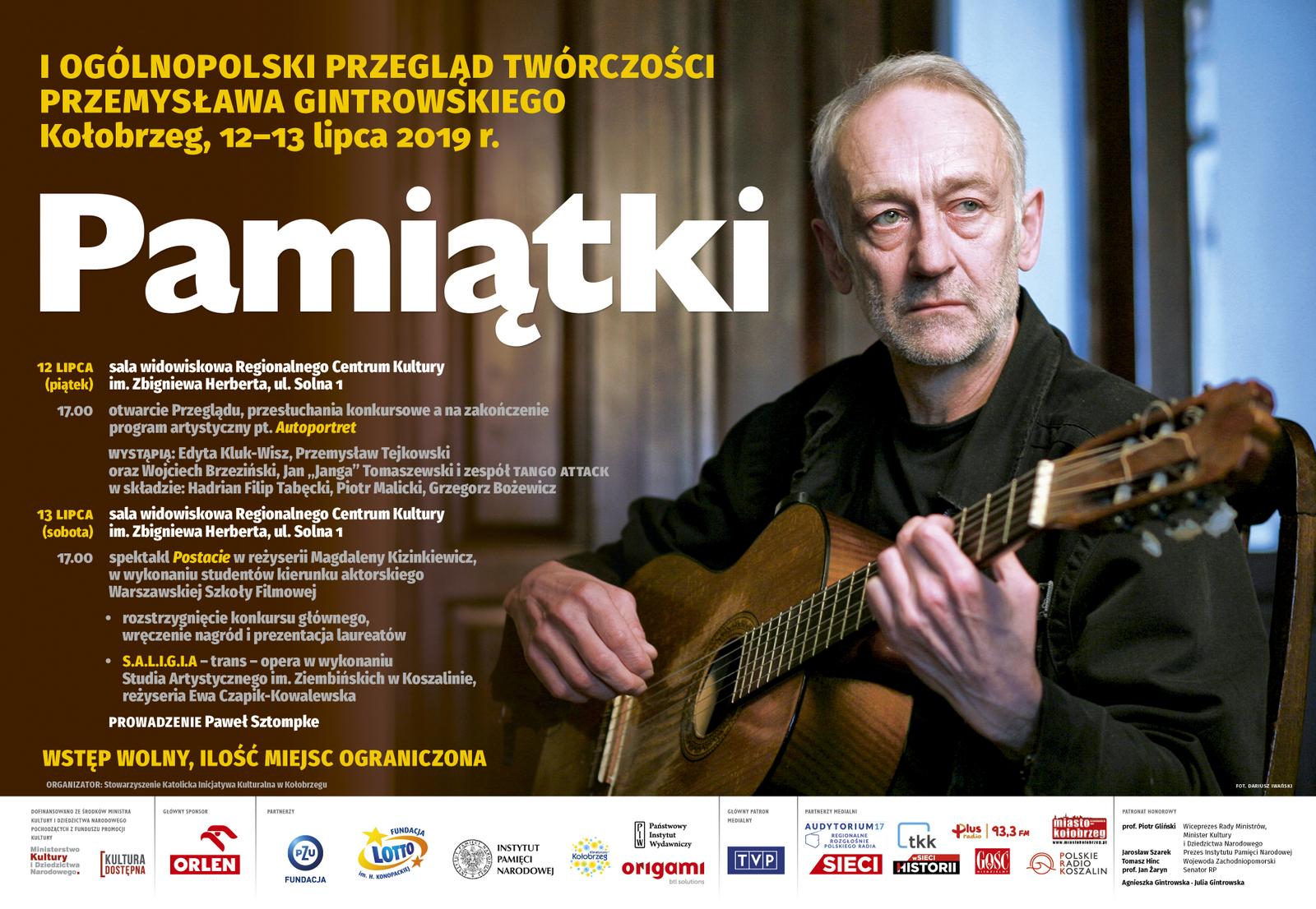 Przemysław Gintrowski [fot. Dariusz Iwański]