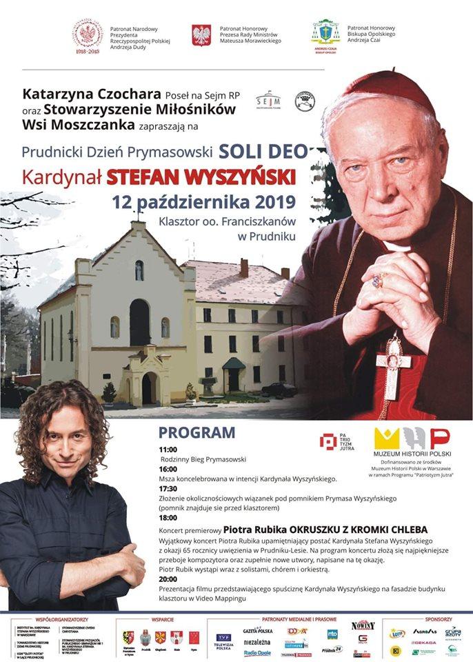 Obchody rocznicy uwięzienia prymasa Stefana Wyszyńskiego w Prudniku-Lesie [materiały organizatora]