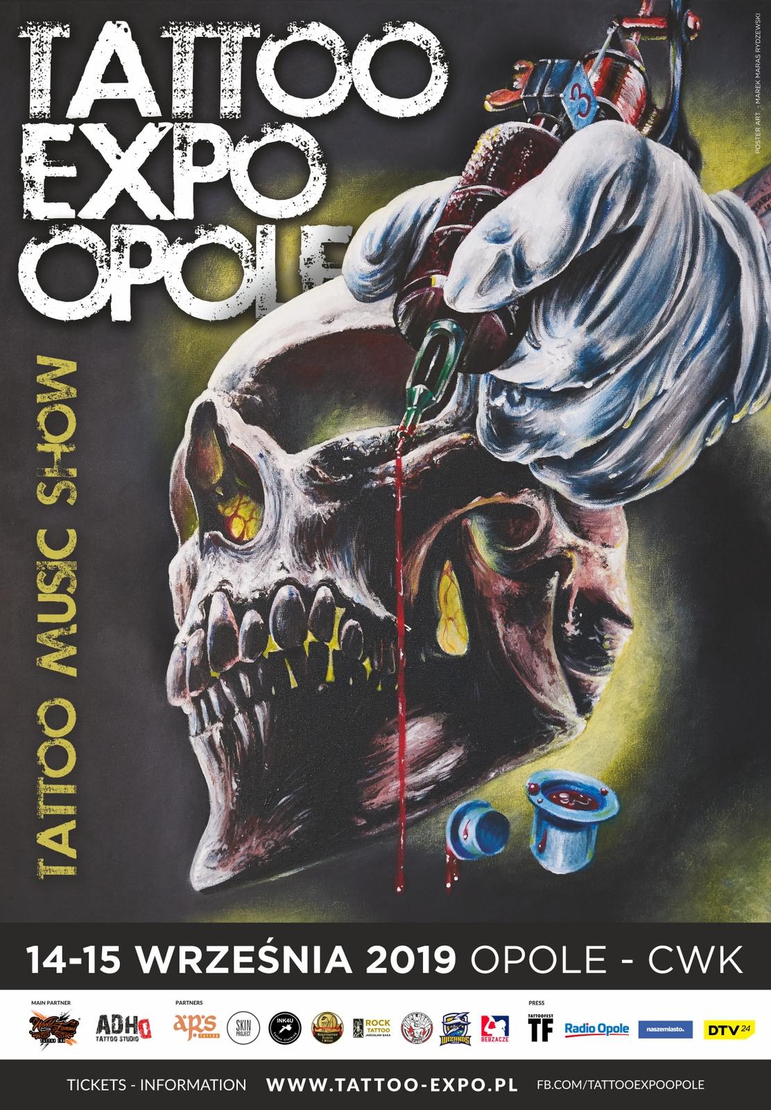 Tattoo Expo Opole 2018 [fot. Mariusz Materlik]