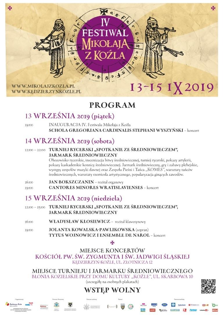 IV Festiwal Mikołaja z Koźla już w ten weekend – poznaj szczegóły! [materiały organizatora]