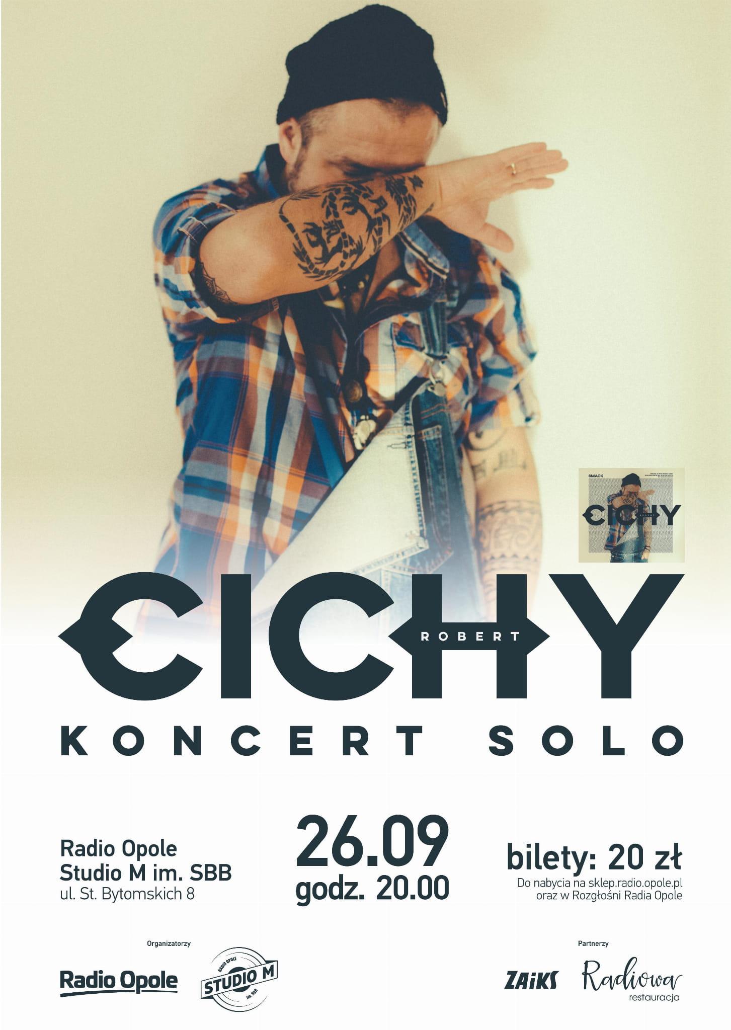 Robert Cichy z koncertem w Studiu M im. SBB!