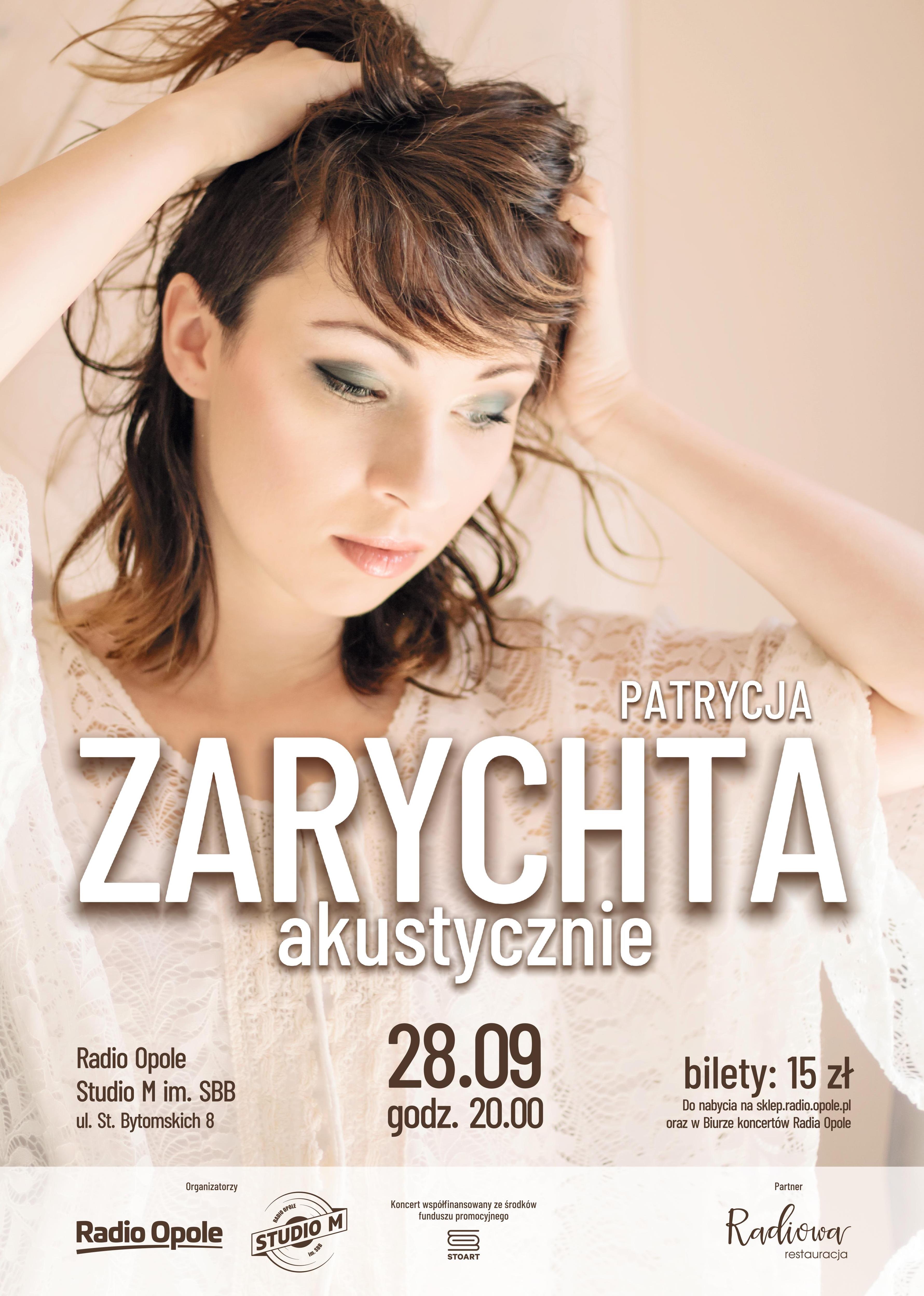 Koncert Partycji Zarychty. Zarezerwuj bilet i spędź miło sobotni wieczór w Studiu M im. SBB!