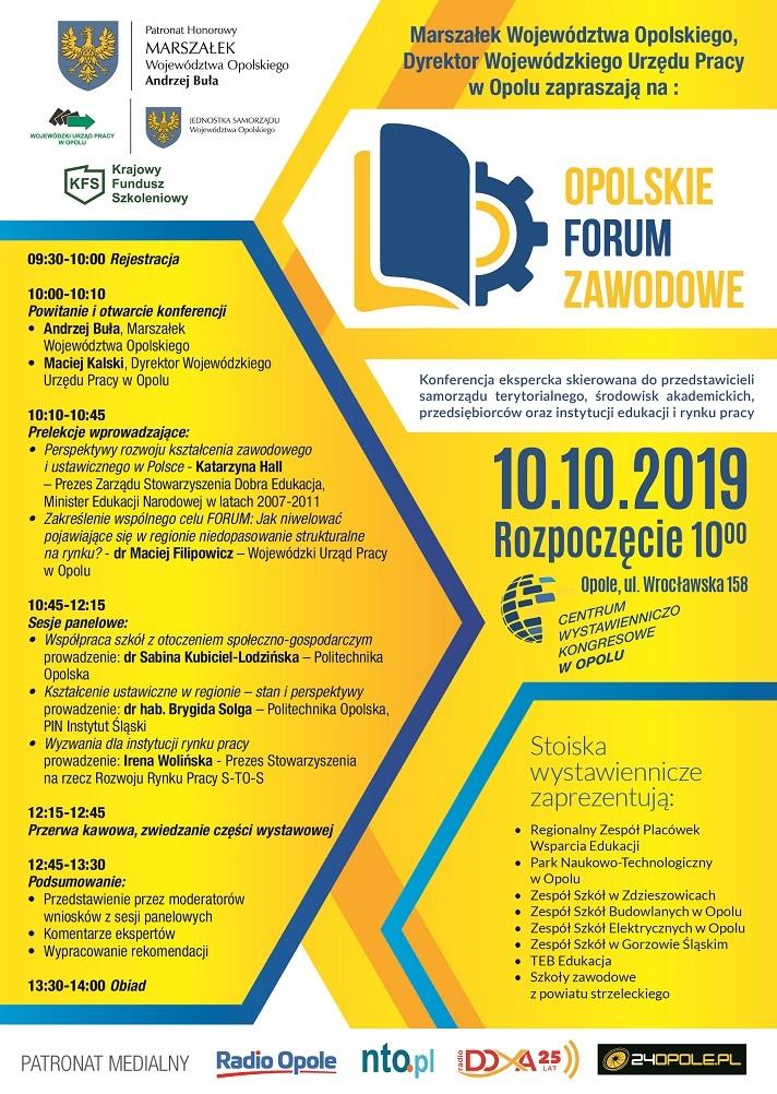 Opolskie Forum Zawodowe już w czwartek – poznaj szczegóły! [materiały organizatora]