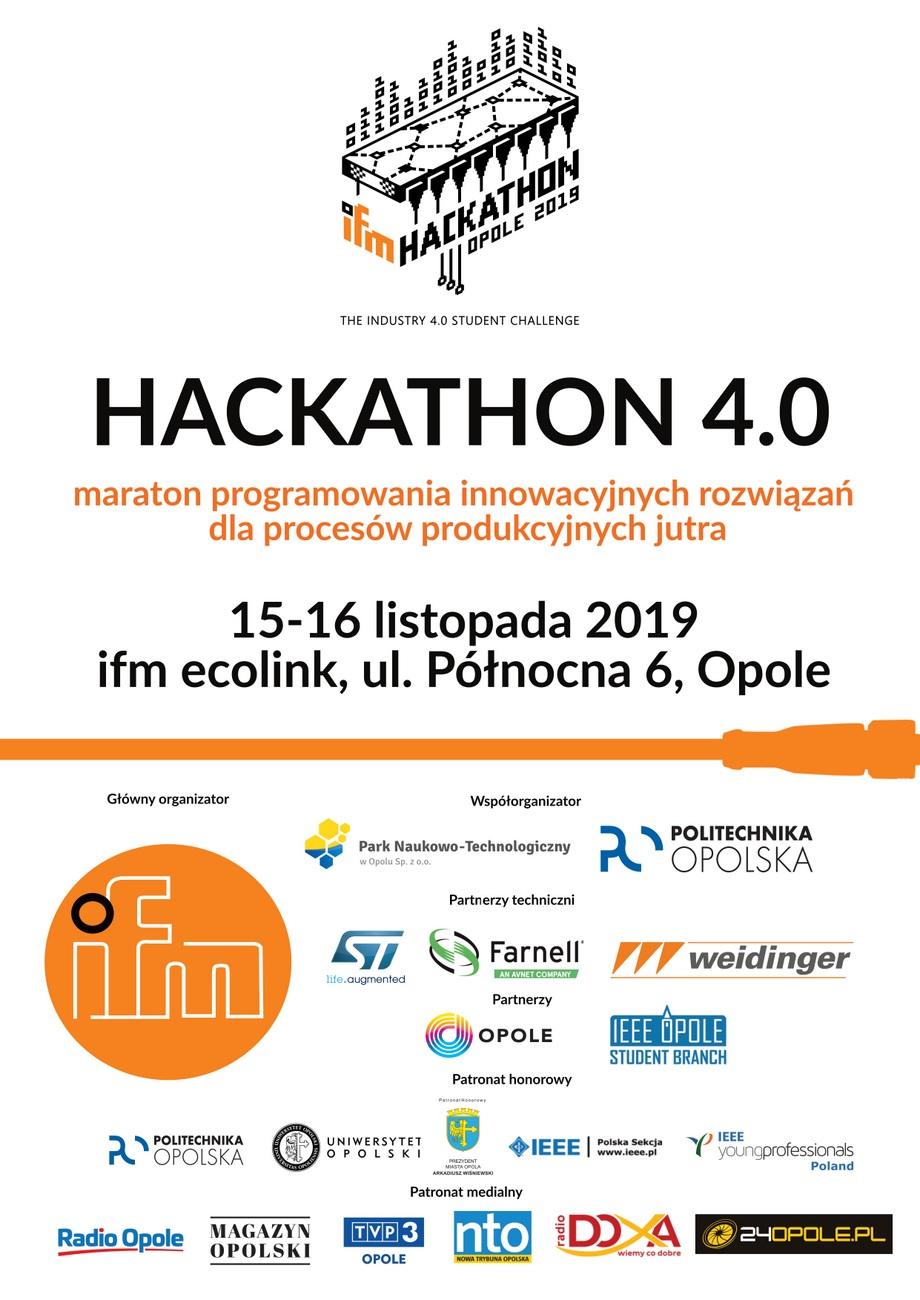 Młodzi projektanci będą szukać rozwiązania konkretnego problemu dla Przemysłu 4.0 – zbliża się ifm Hackathon Opole 2019! [materiały organizatora]