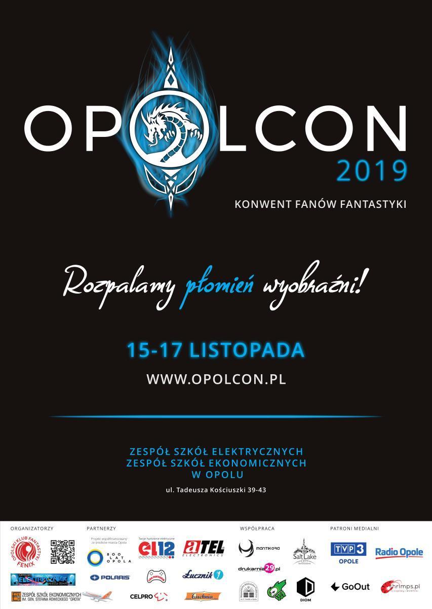 Fani fantastyki spotkają się w Opolu – Opolcon 2019 już w weekend! [materiały organizatora]