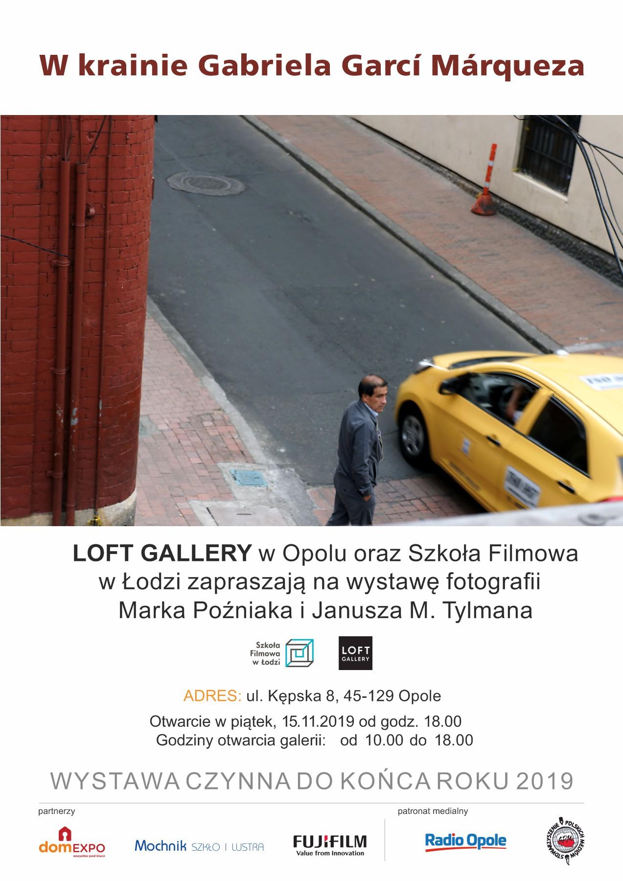 Loft Gallery w Opolu oraz Szkoła Filmowa w Łodzi zapraszają na wystawę fotografii Marka Poźniaka i Janusza M. Tylmana pt.