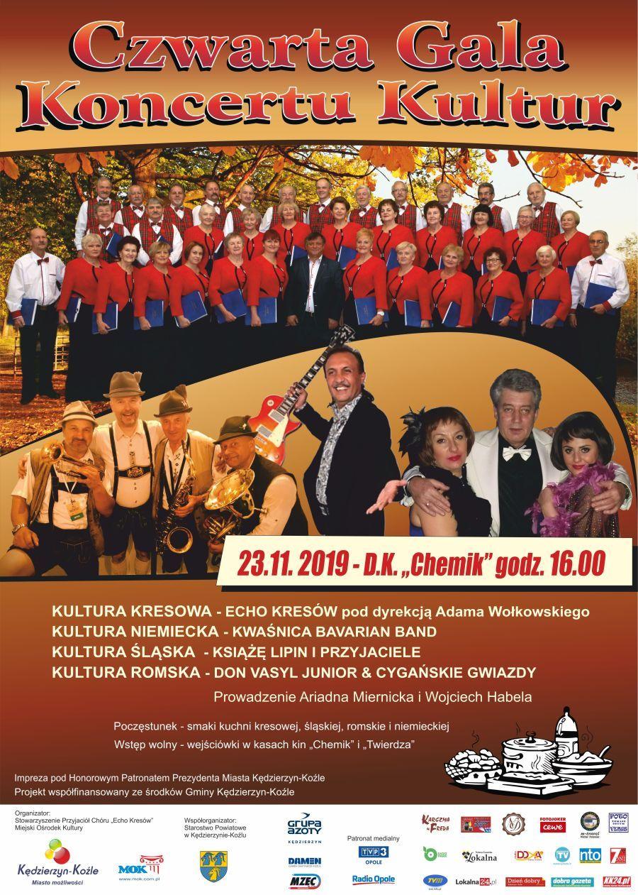 Cztery kultury spotkają się na jednej scenie – zbliża się Czwarta Gala Koncertu Kultur! [materiały organizatora]