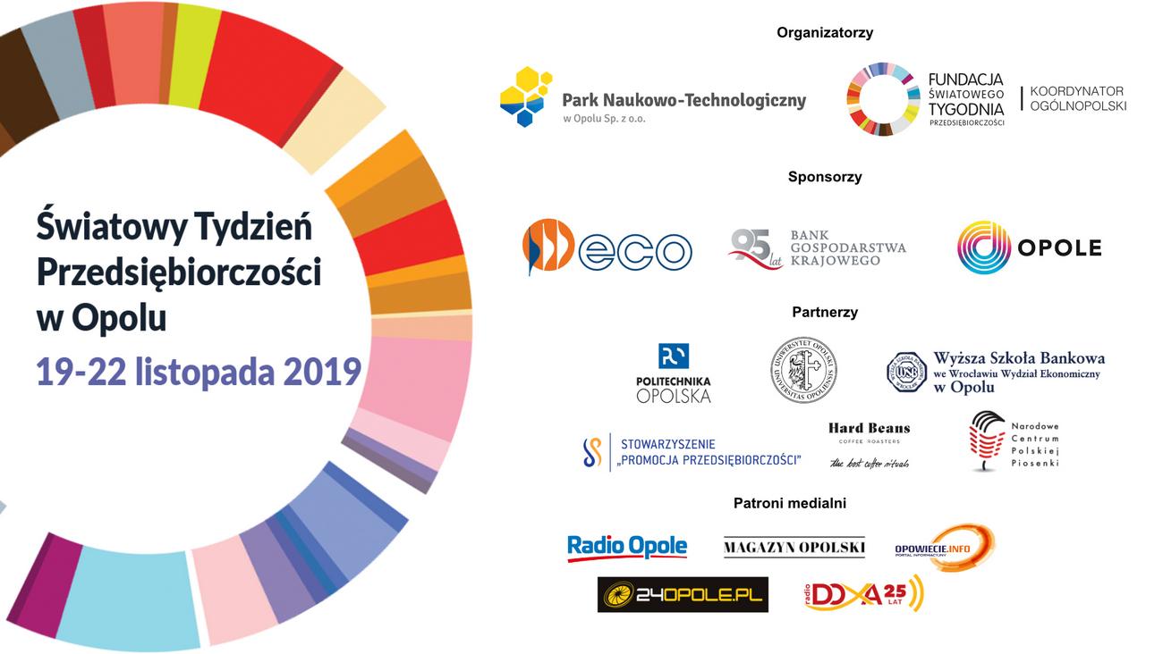 Światowy Tydzień Przedsiębiorczości w Opolu – poznaj harmonogram wydarzeń! [materiały organizatora]