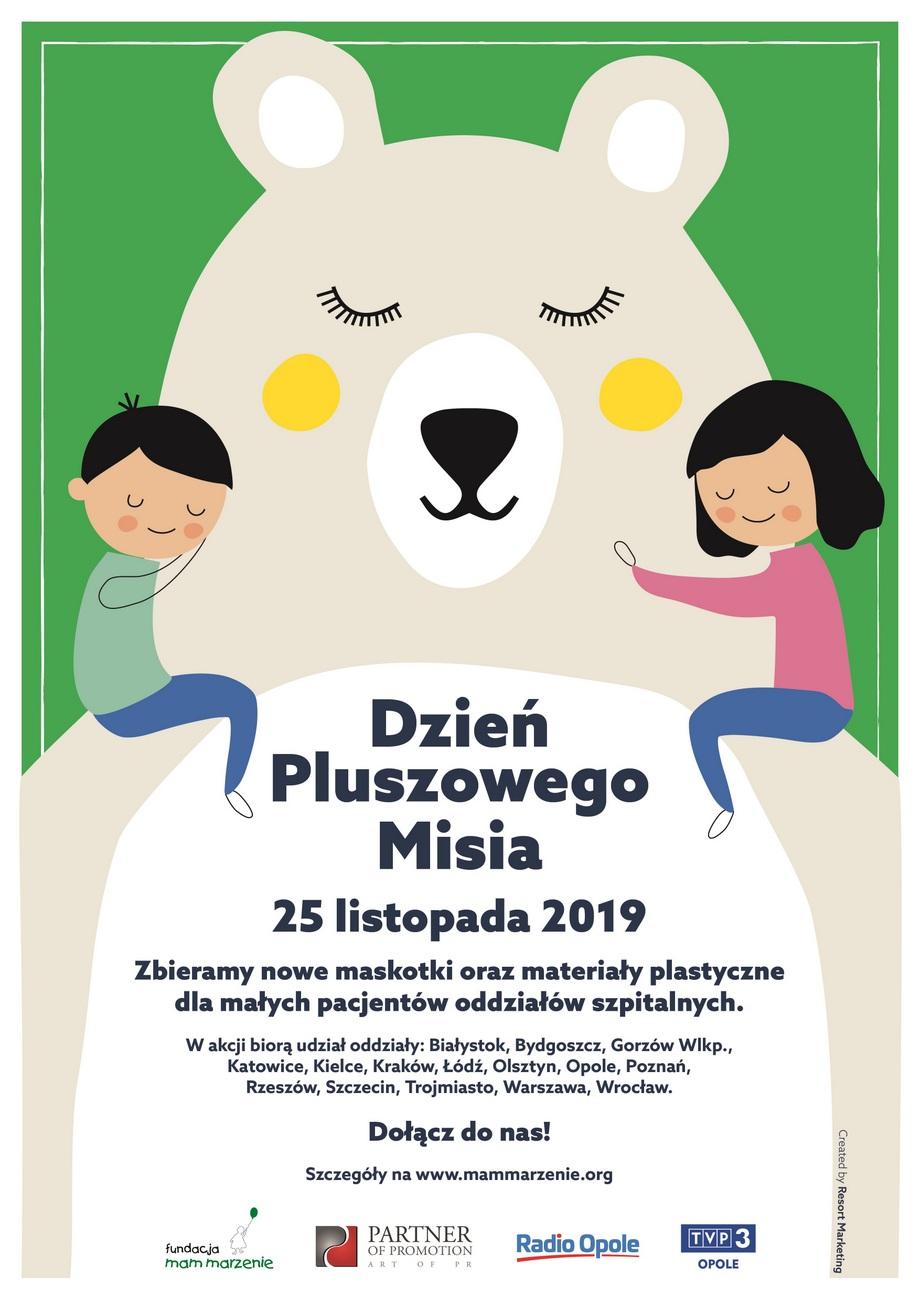 Dzień Pluszowego Misia – w Opolu trwa zbiórka maskotek i innych zabawek, poznaj szczegóły!