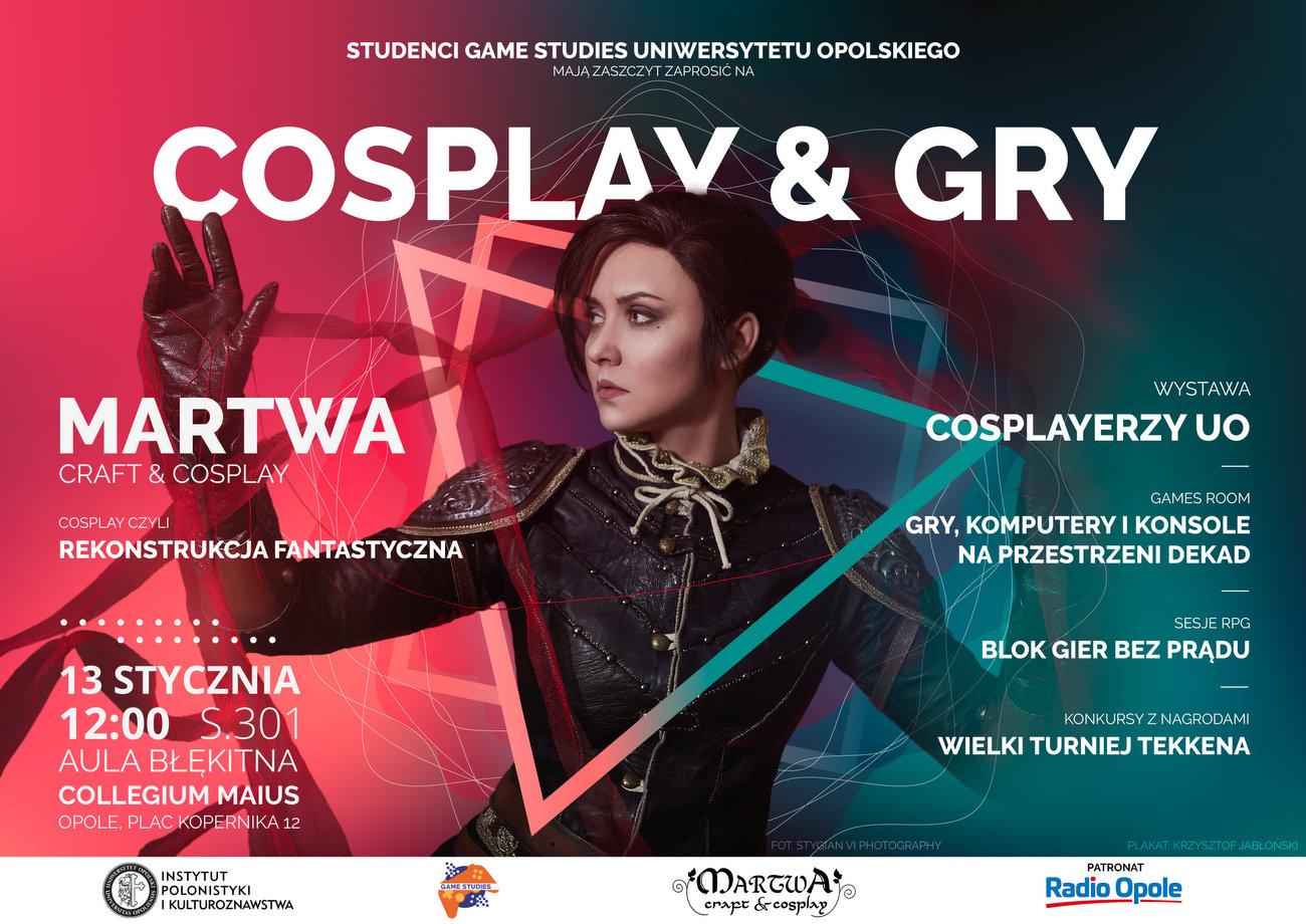 Cosplay & Gry na UO – przed nami czwarty Akademicki Dzień Kultury Gier! [materiały organizatora]