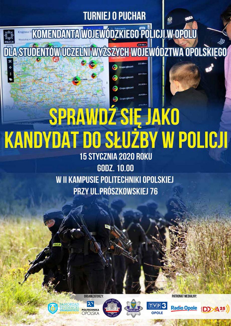 Turniej o Puchar Komendanta Wojewódzkiego Policji w Opolu już w środę – poznaj szczegóły! [materiały organizatora]