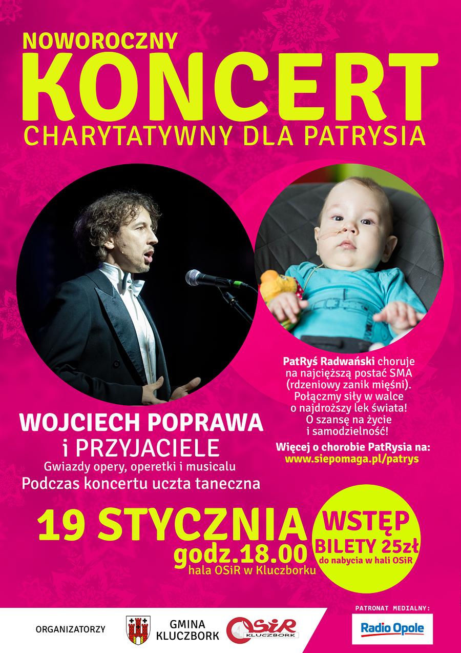 Wojciech Poprawa i Przyjaciele zagrają dla PatRysia – poznaj szczegóły! [materiały organizatora]