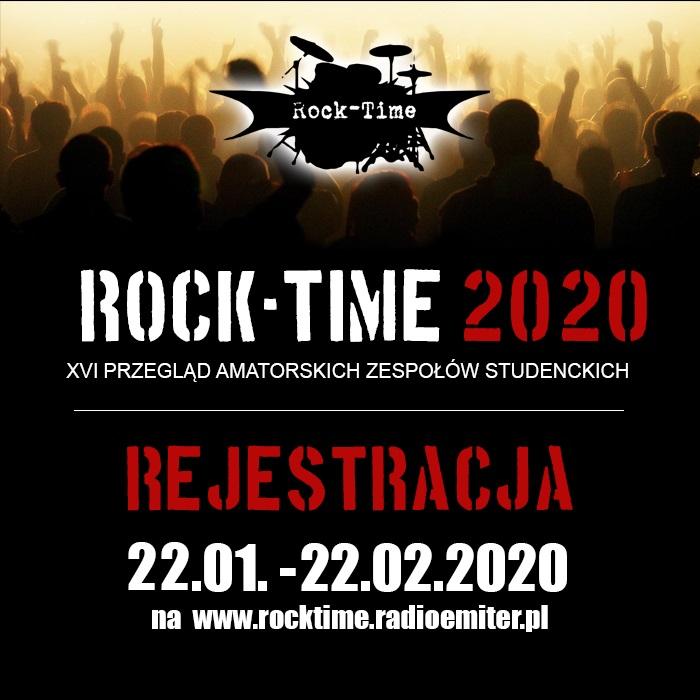 Jesteś studentem i grasz w kapeli? Zgłoś swój zespół na Rock-Time 2020! Trwa rejestracja