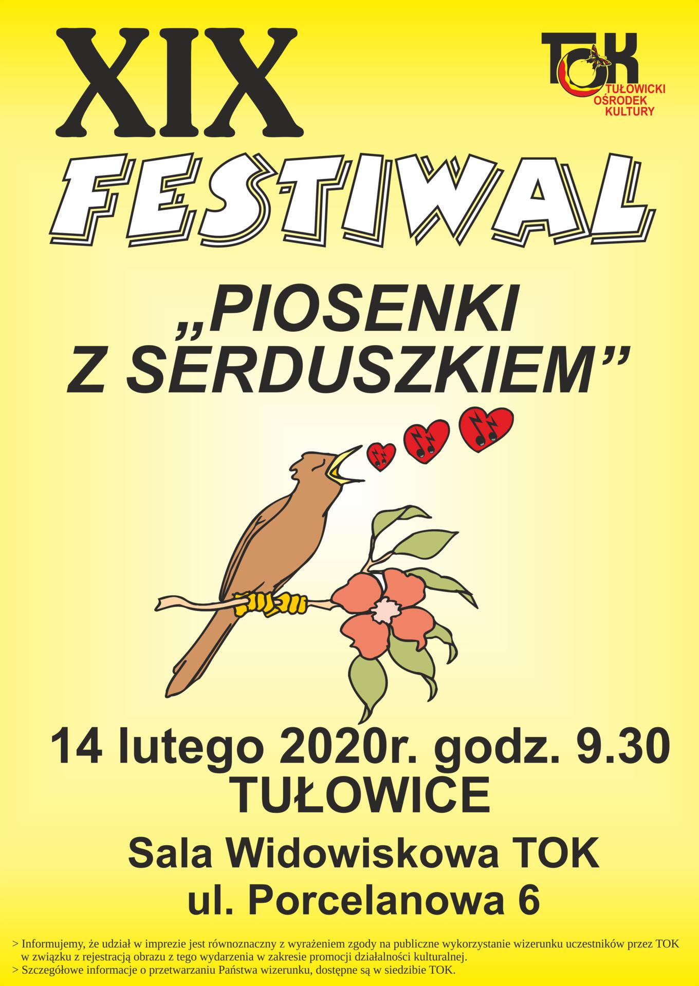 XIX Festiwal Piosenki z Serduszkiem