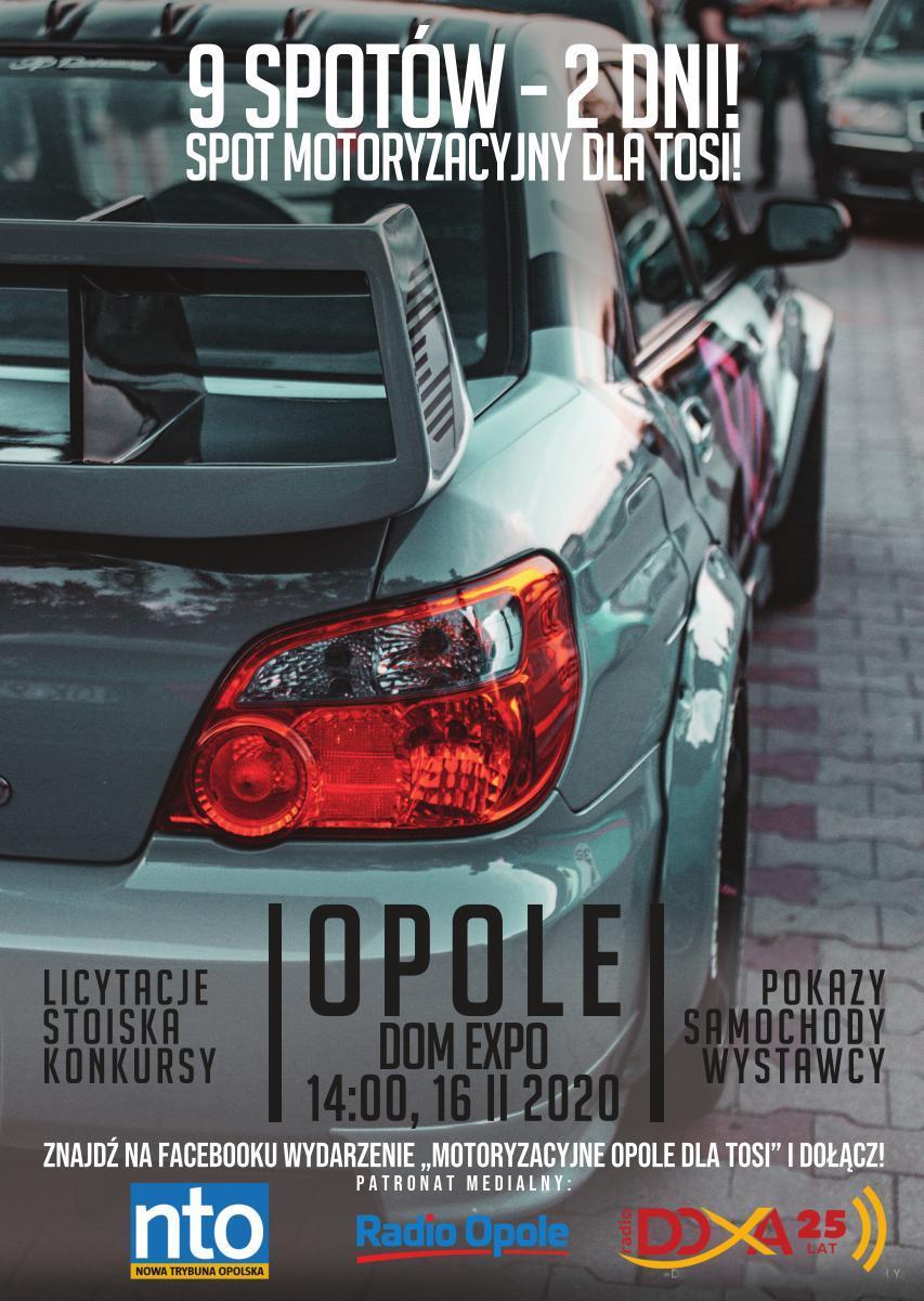 Spot motoryzacyjny dla Tosi już w niedzielę – dowiedz się więcej i weź udział! [materiały organizatora]