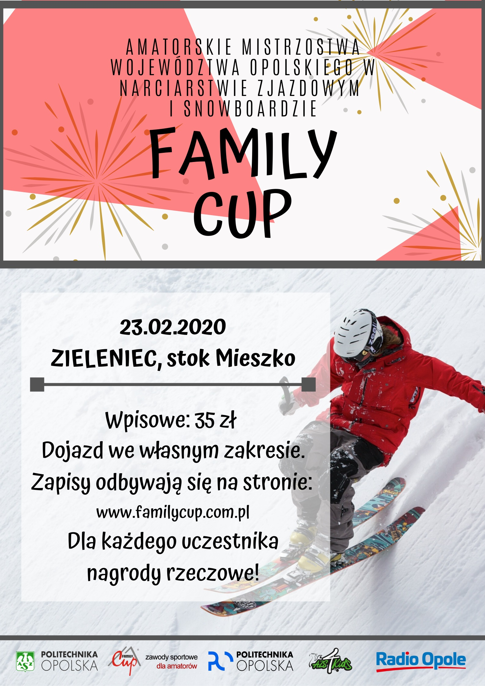 Family Cup 2020, plakat, AZS PO
