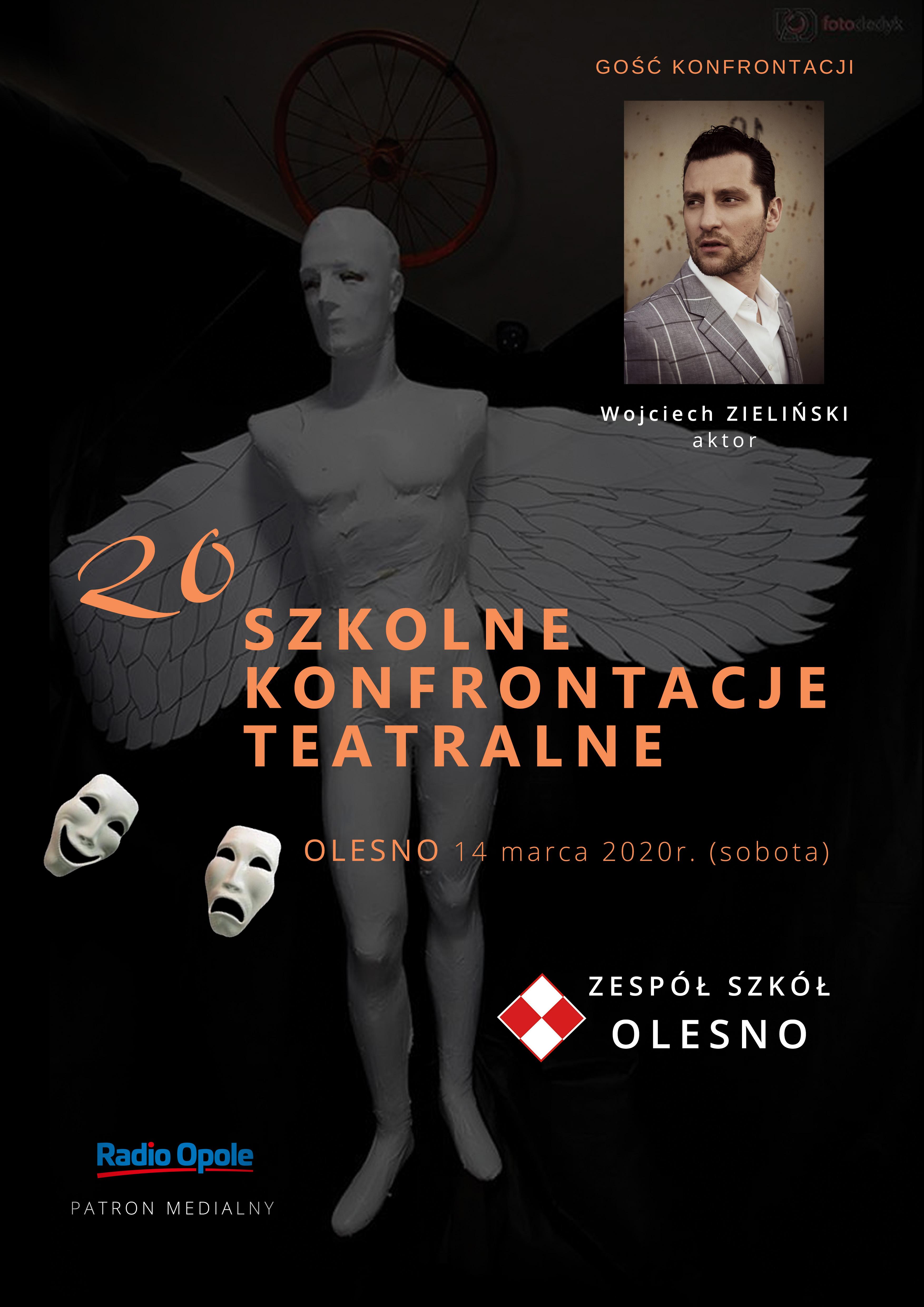XX Szkolne Konfrontacje Teatralne w Oleśnie już w sobotę