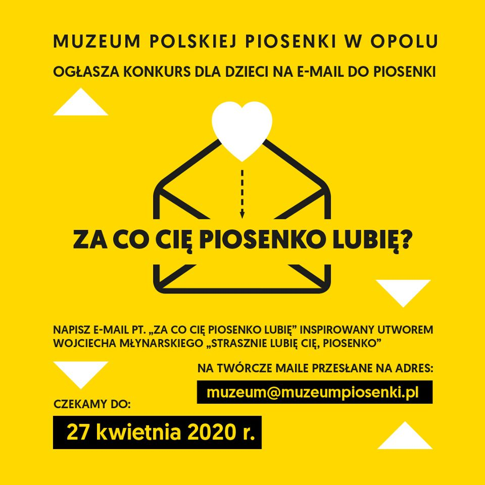 Do 27.04 MPP w Opolu czeka na e-maile! Autor plakatu: Bartosz Posacki