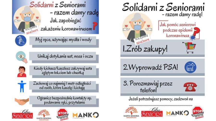 'Solidarni z Seniorami - Razem Damy Radę'!