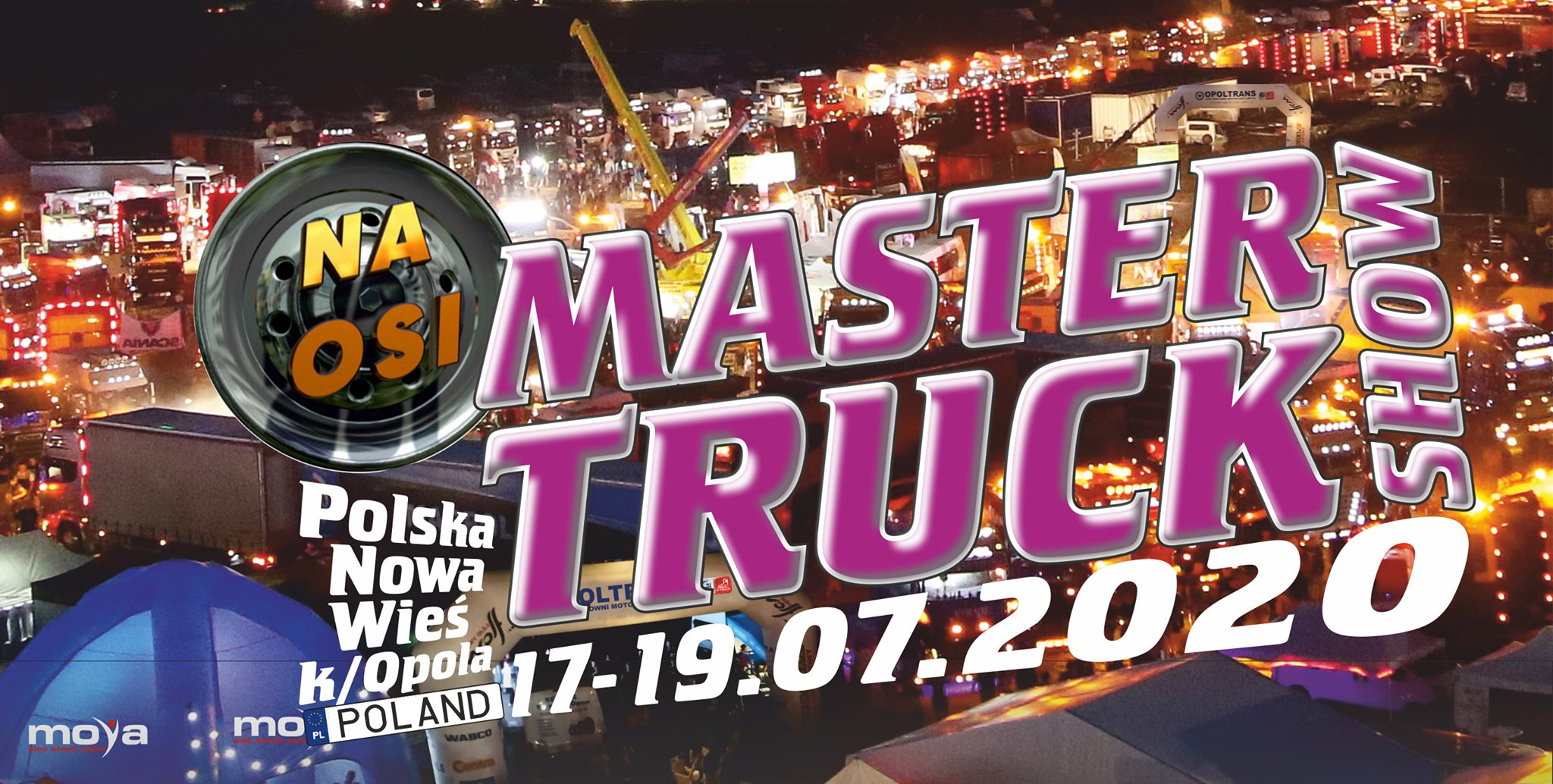 16. Master Truck Show 2020 od 17 lipca!