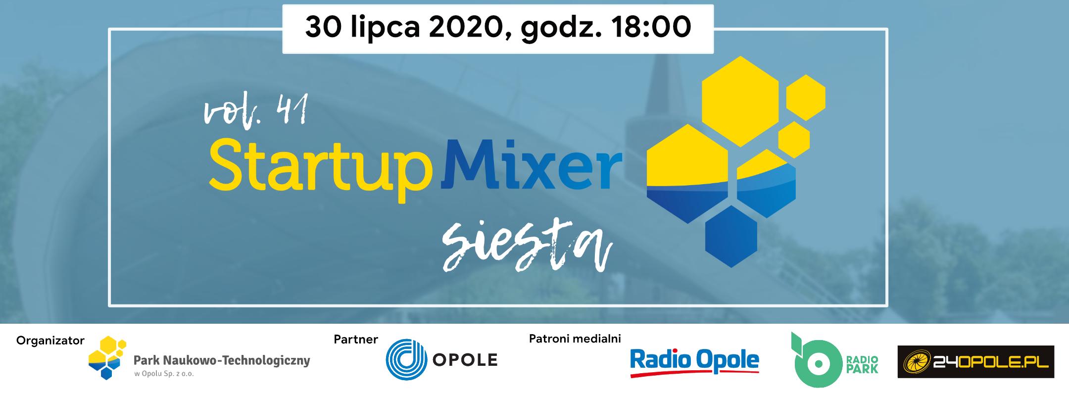 41. Startup Mixer już w czwartek – przyjdź i dowiedz się, co słychać w opolskim biznesie! [materiały organizatora]