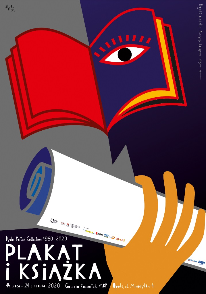"""Wystawa """"Plakat i książka"""" w MBP w Opolu – poznaj szczegóły! [materiały organizatora]"""