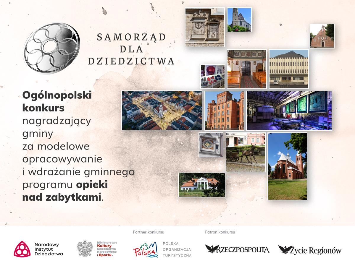 Rusza druga edycja ogólnopolskiego konkursu 'Samorząd dla Dziedzictwa' [materiały organizatora]