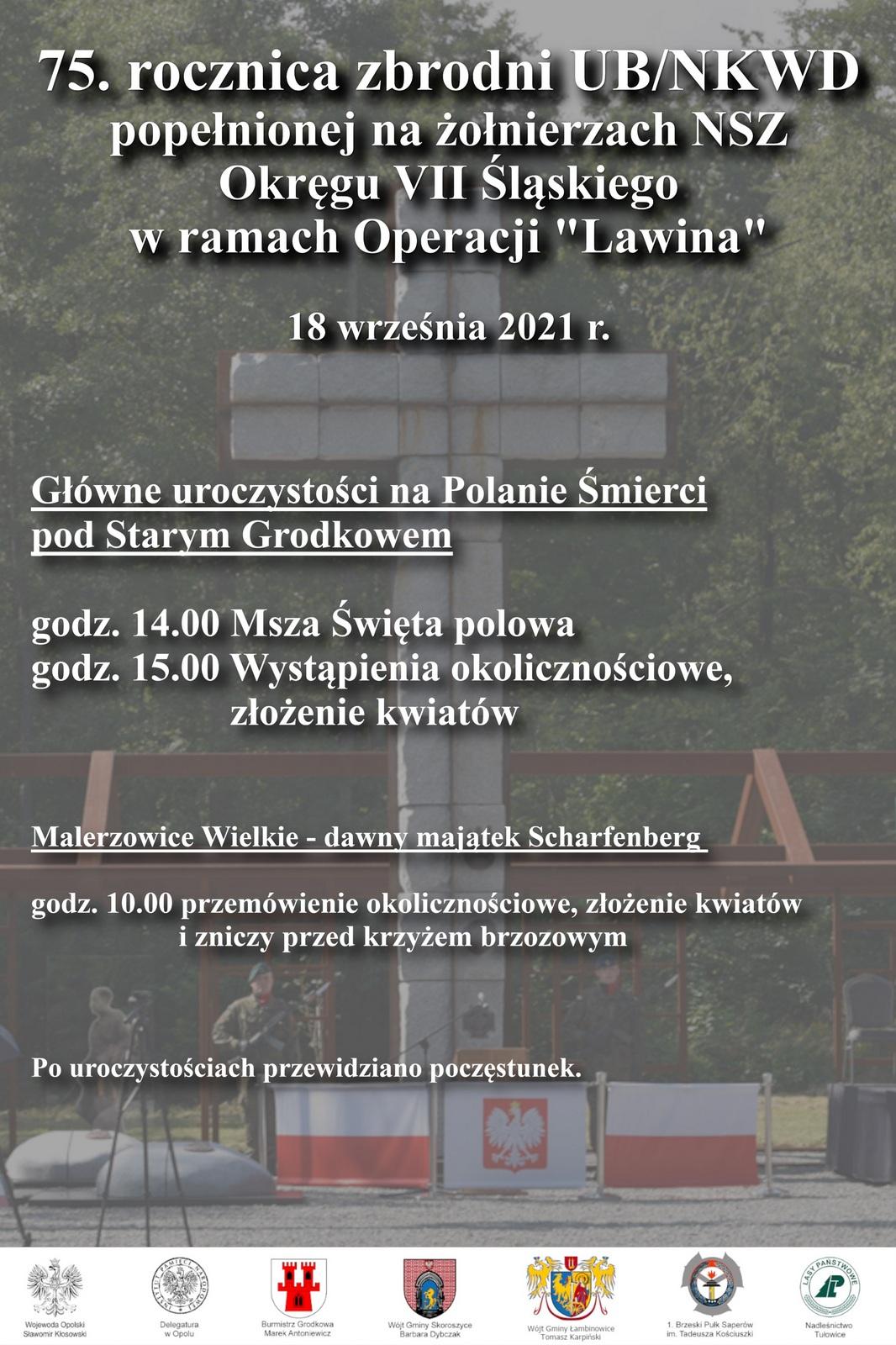 """Zbliża się 75. rocznica operacji """"Lawina"""" – poznaj szczegóły zaplanowanych uroczystości [fot. materiały organizatora]"""