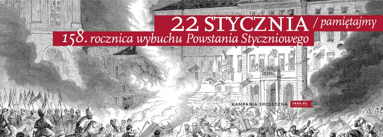 158. rocznica wybuchu Powstania Styczniowego [materiały: Fundacja 1863.PL]