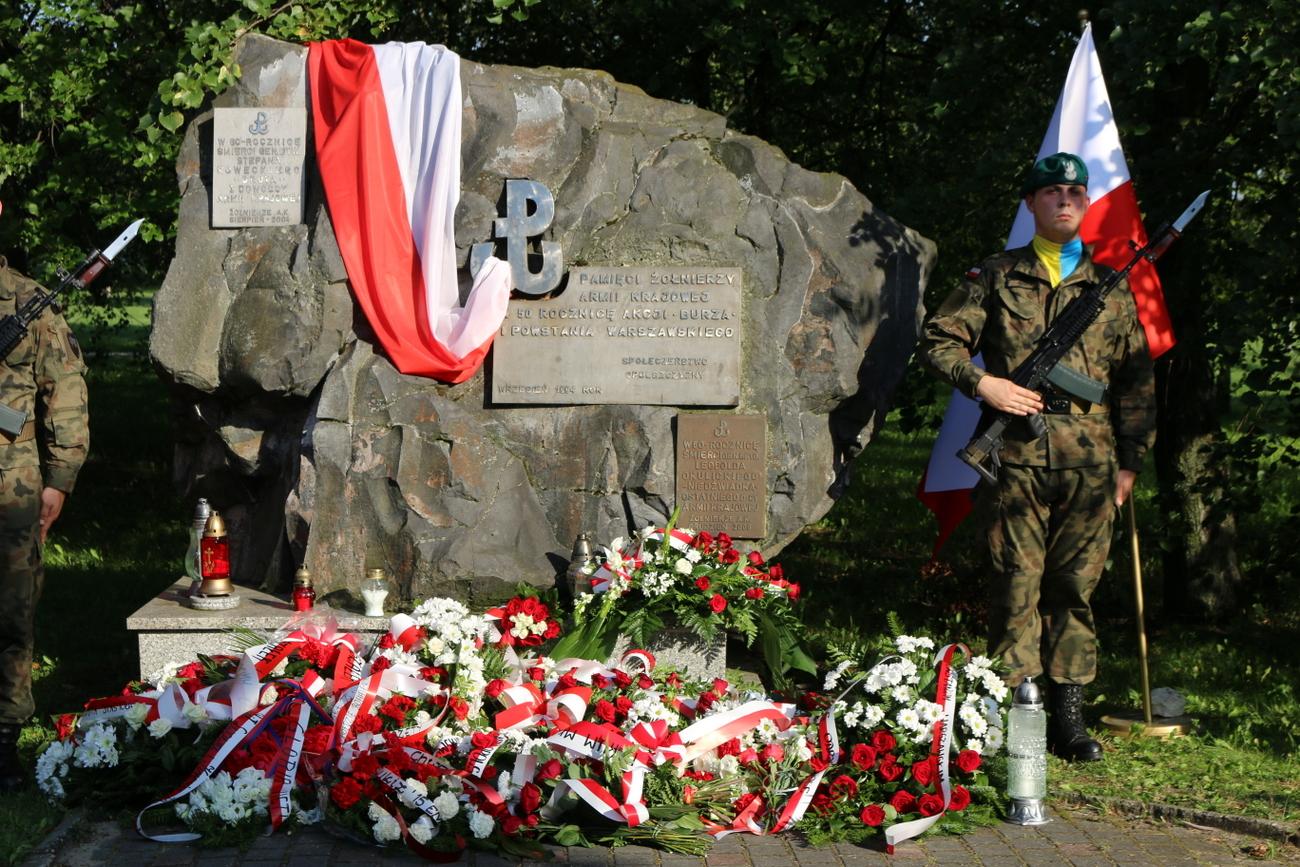 76. rocznica Powstania Warszawskiego. W godzinę W zawyją w regionie syreny