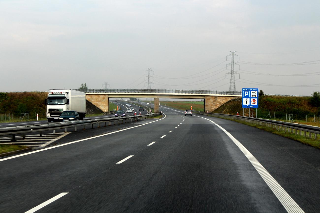 Autostrada A4, archiwum [fot. Patryk Domagała]