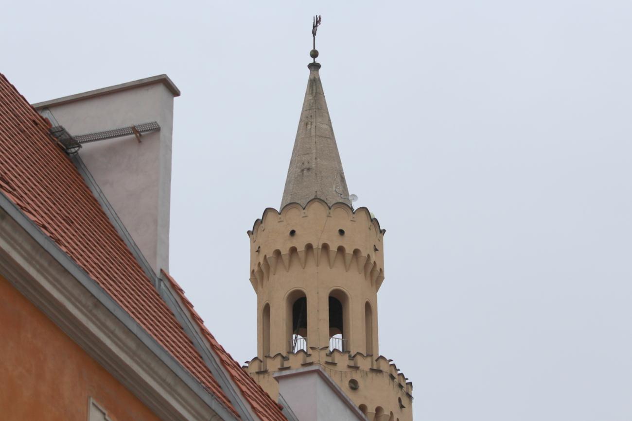Wieża ratuszowa w Opolu [fot. Patryk Domagała]