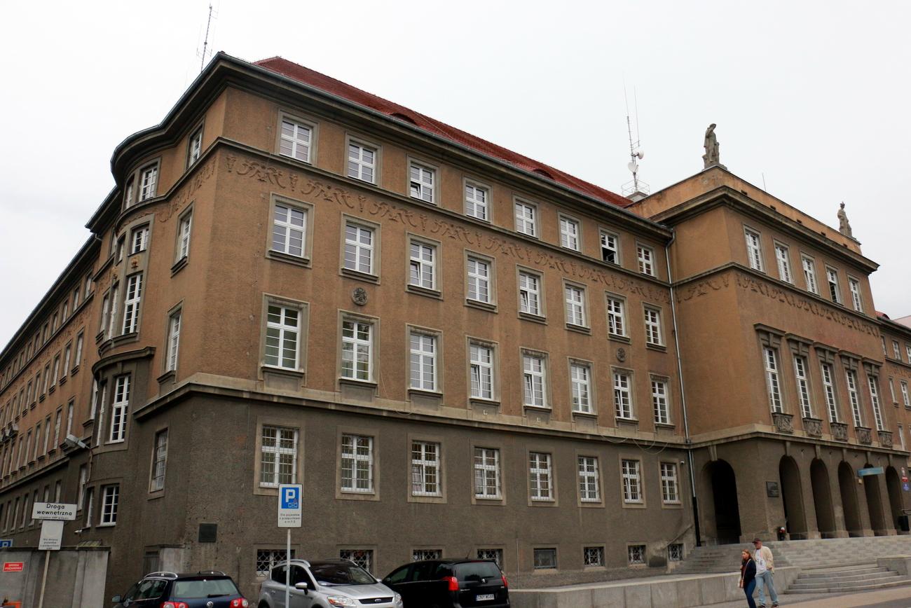 Komenda Wojewódzka Policji w Opolu [fot. Justyna Krzyżanowska]