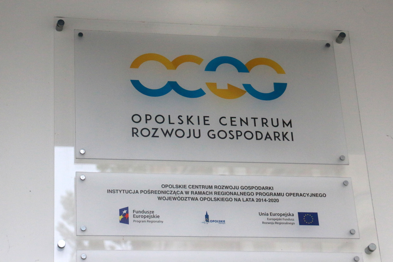 Opolskie Centrum Rozwoju Gospodarki [fot. Justyna Krzyżanowska]