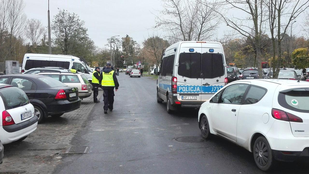 Policja podczas akcji ZNICZ w latach ubiegłych [fot. Sławomir Kieler]