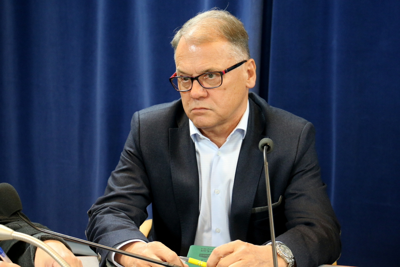 Tadeusz Goc chce połączyć strzeleckie spółki w jedną [fot. Barbara Więcek]