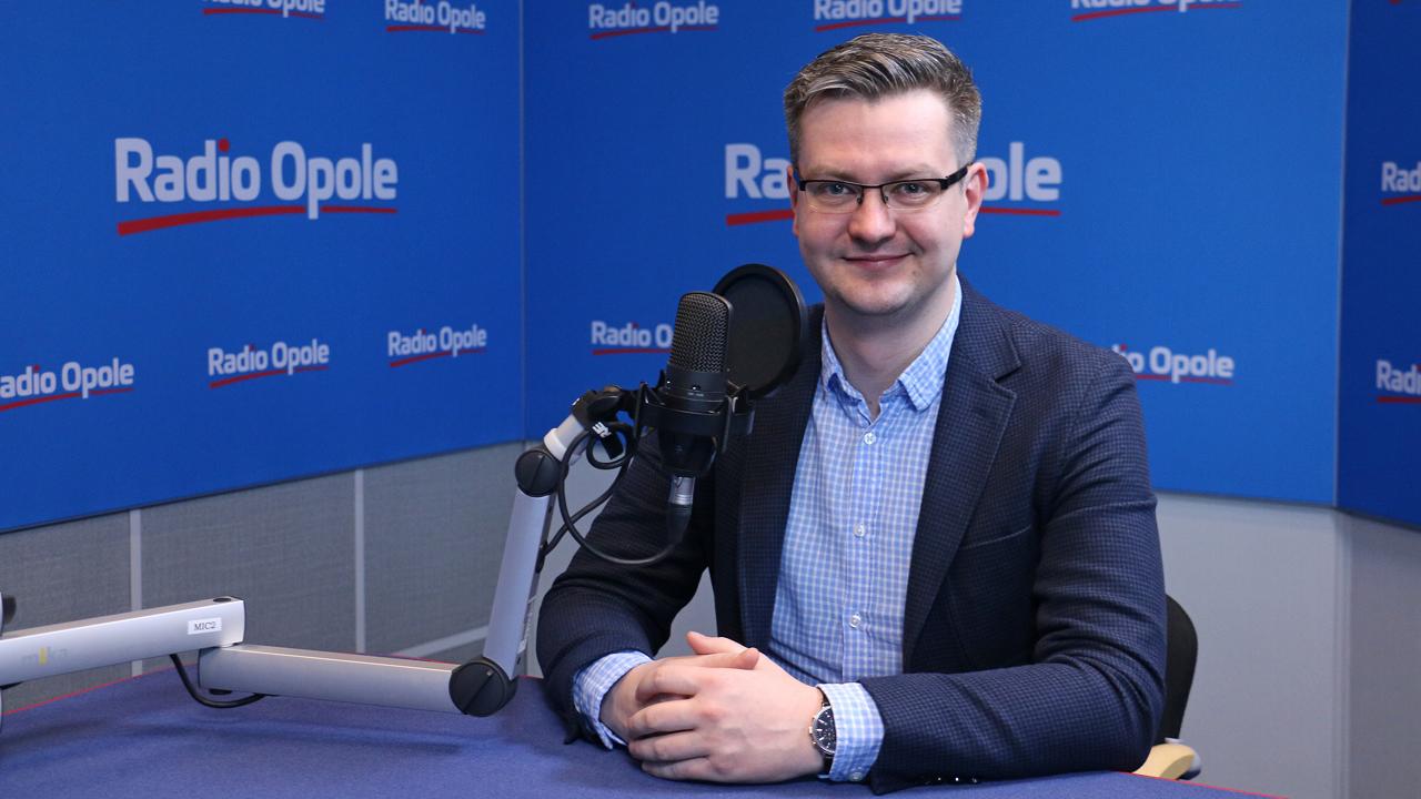 Maciej Kochański o możliwości zdalnych obrad Senatu UO i o trwających wyborach rektora [fot. Wanda Kownacka]