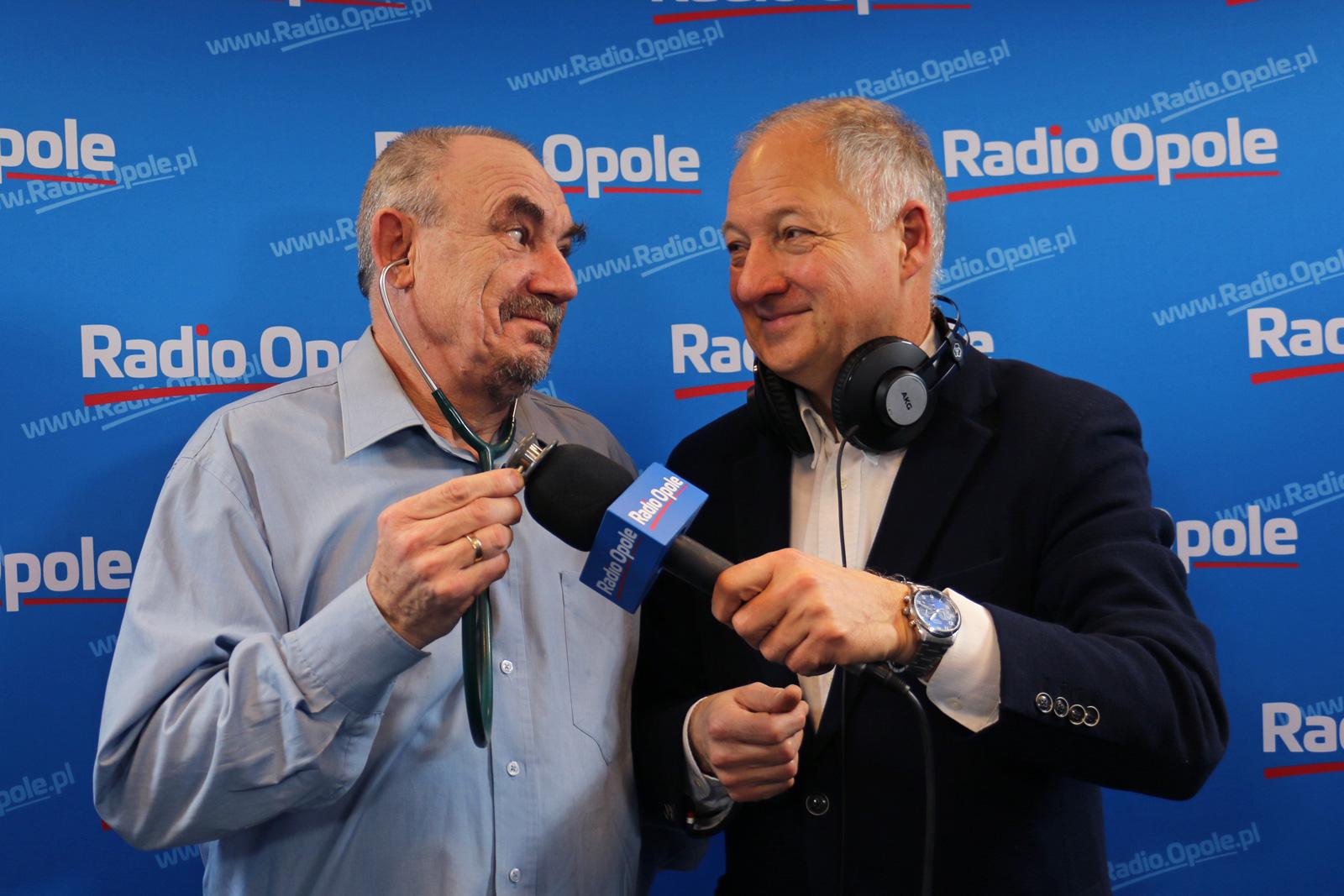 Dr Janusz Stasiak i red. Krzysztof Dobrowolski [fot. Justyna Krzyżanowska]