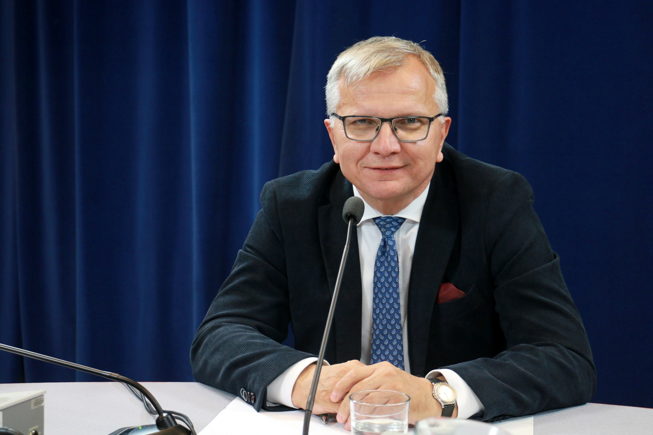 Jarosław Kielar [fot. Justyna Krzyżanowska]