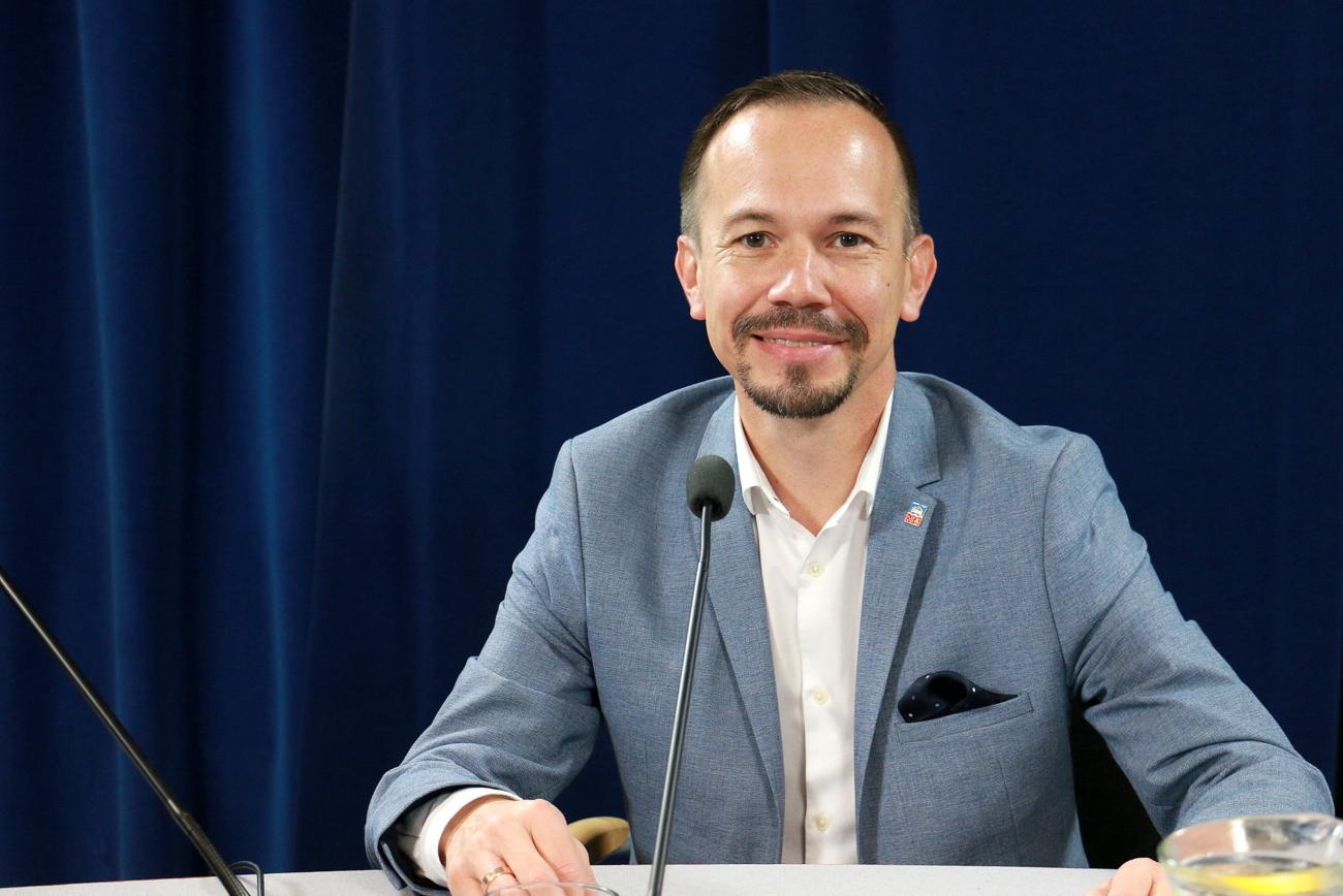 Maciej Sonik: Jako wolontariusz szpitala mogłem się zaszczepić w etapie zero