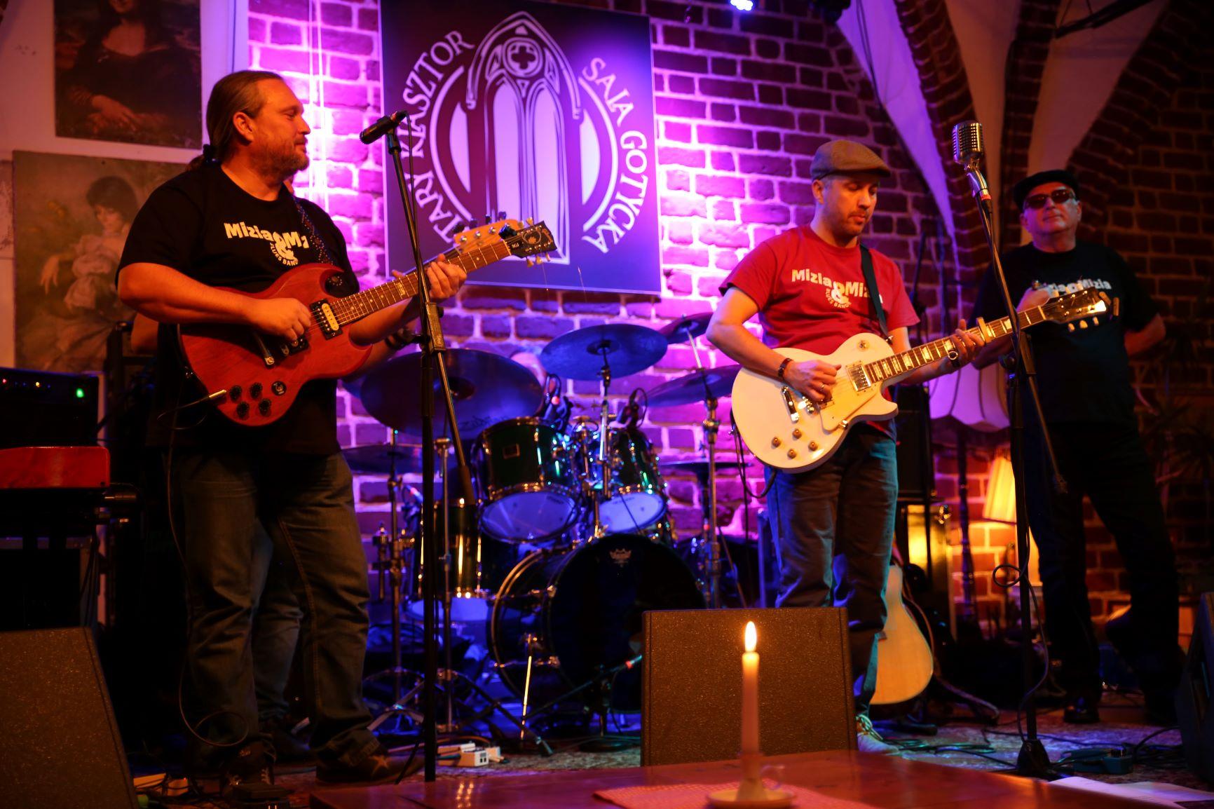 Mizia & Mizia Blues Band [fot. Bogdan Stawarz]