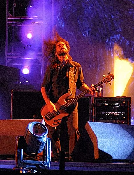 Justin Chancellor z Toola [fot. deep ghosh / Wikimedia Commons]